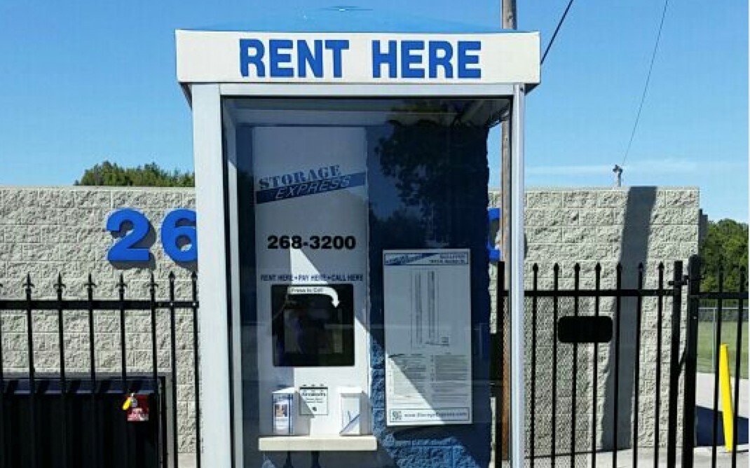 Rental booth