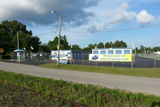 Street view of storage facility on Joe Avenue in Hohenwald