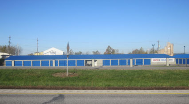 Street view of Bedford storage facility