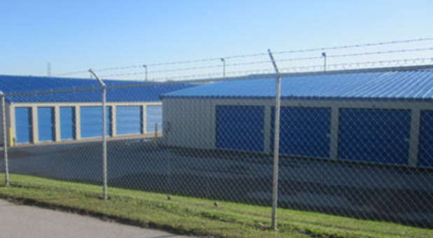 Fenced and secure storage facility