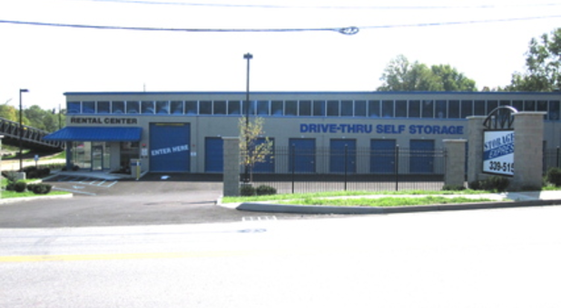 Self-storage facility with indoor and drive-up access