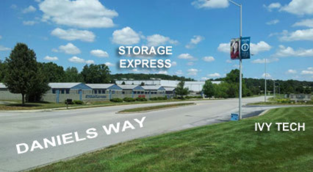 Street view of Storage Express on Daniels Way