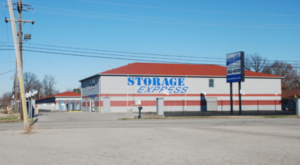 Street view of Storage Express on Little League Drive