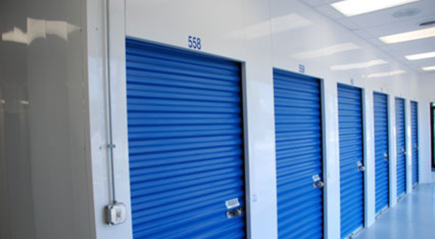 Storage units with indoor access