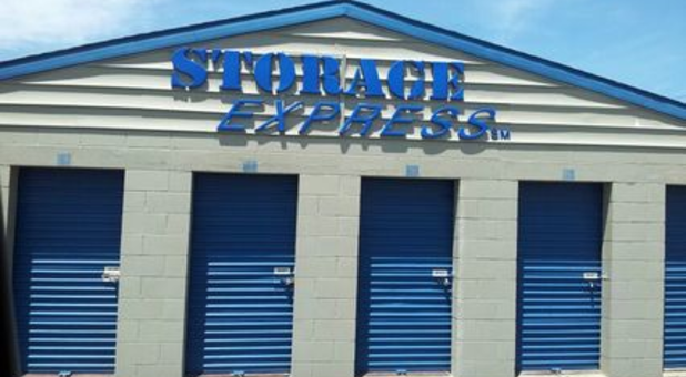 Medium-sized storage units with drive-up access