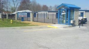 Storage facility entrance