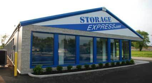 Storage facility main entrance