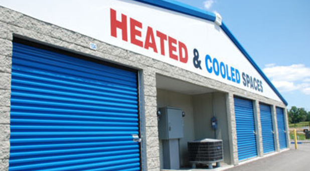 Heated and cooled storage units