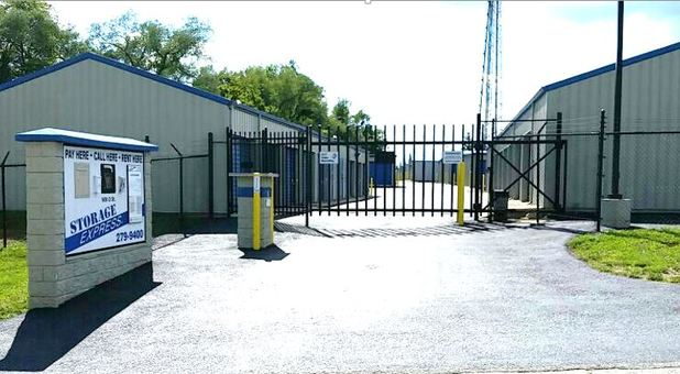 Safe and secure entrace to storage facility and units