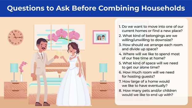 list of questions to ask before combining households